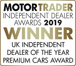 UK Independent Dealer of The Year Premium Cars Award