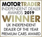 UK Independent Dealer of The Year Premium Cars Award