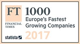 Europe's Fastest Growing Companies Award